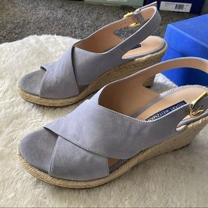 stuart weitzman paris esparilles wedge sandals